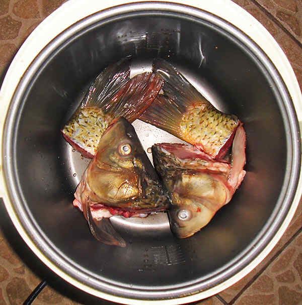 Готовить рыбу в мультиварке