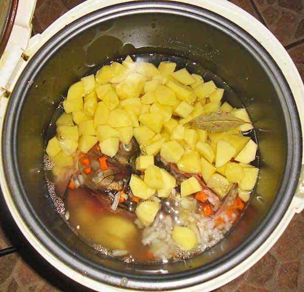 Рыбное блюдо в мультиварке
