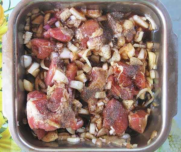 Маринуем мясо в соевом соусе
