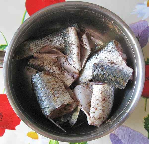 Филе рыбы в мультиварке
