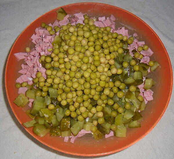 как приготовить вкусный салат оливье с колбасой