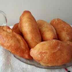 Пирожки с творогом жареные на сковороде