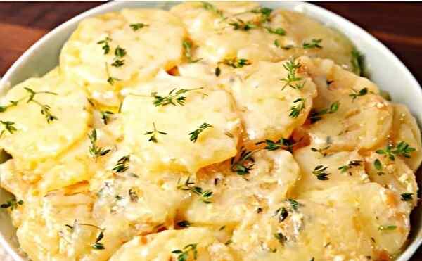 рецепты картофельной запеканки для мультиварки vitesse