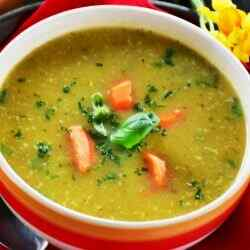Суп пюре из чечевицы рецепт с фото