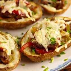 Рецепт фаршированной картошки в духовке
