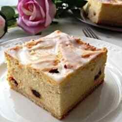 Песочный пирог с творогом рецепт