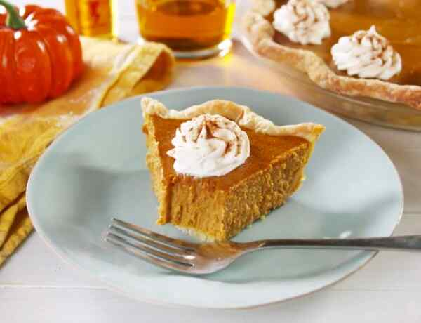 Американский тыквенный пирог фото