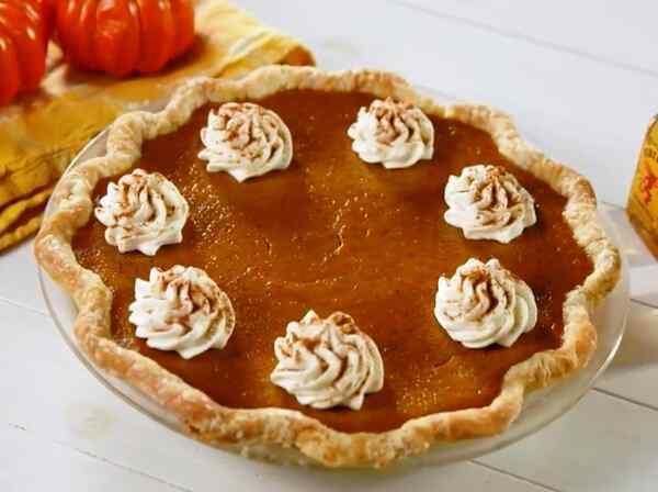 Американский тыквенный пирог классический рецепт с фото