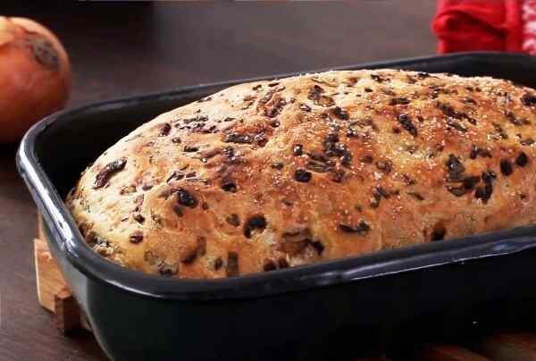 Хлеб с луком рецепты