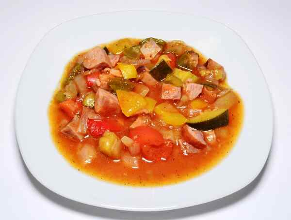 Овощное рагу пошаговый рецепт с фото
