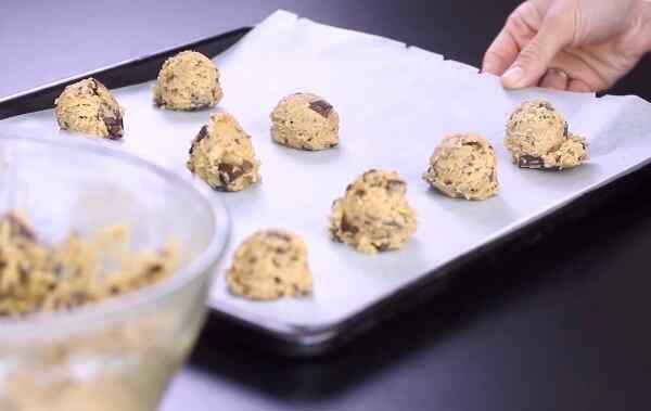 Песочное печенье с шоколадной крошкой рецепт
