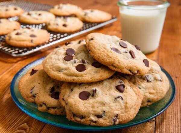Как приготовить печенье с шоколадной крошкой