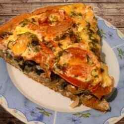 Пицца домашняя в духовке рецепт с фото