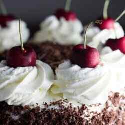 Торт черный лес классический рецепт