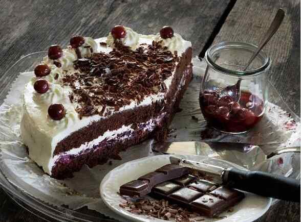 Торт черный лес рецепт с фото пошагово