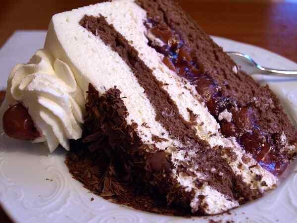 Торт шварцвальд