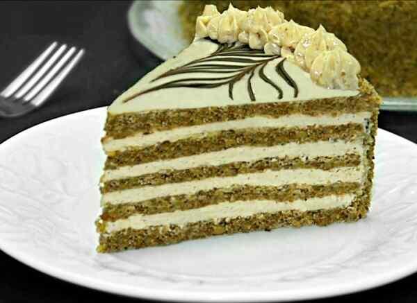 Эстерхази торт рецепт классический с грецкими орехами