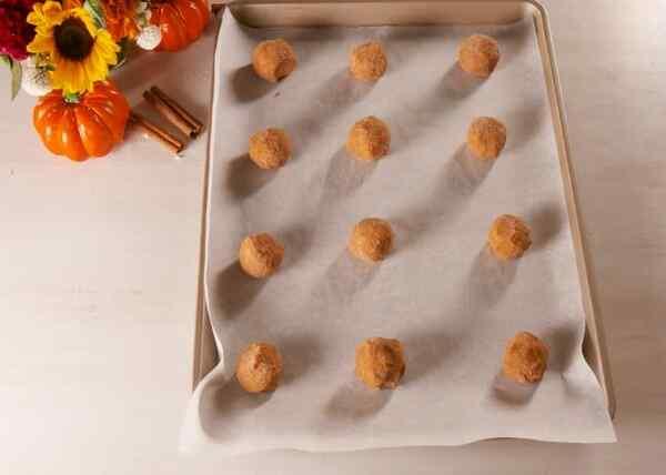 Выпекаем тыквенное печенье всего 12 минут