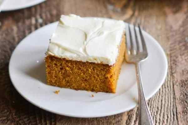 Творожно тыквенный торт
