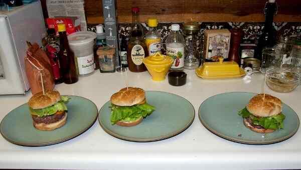 Прошу к столу - гамбургеры как в Макдональдсе