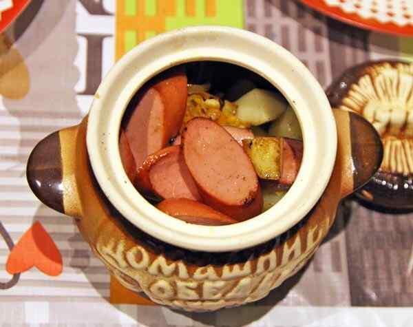 Картошка в горшочках температура духовки