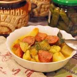 Рецепты жаркого с картошкой в горшочках