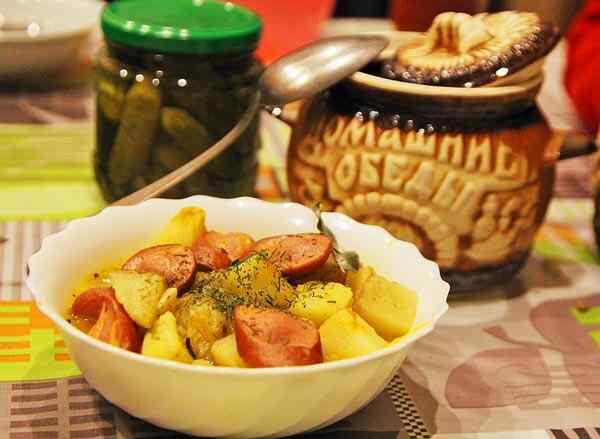 Рецепт жаркое с картошкой в горшочке