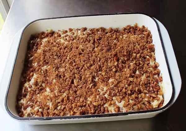 Рецепт орехового пирога с фото пошагово