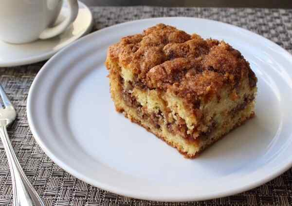 Ореховый пирог с начинкой из грецких орехов