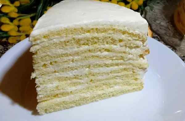 Торт молочная девочка рецепт с фото