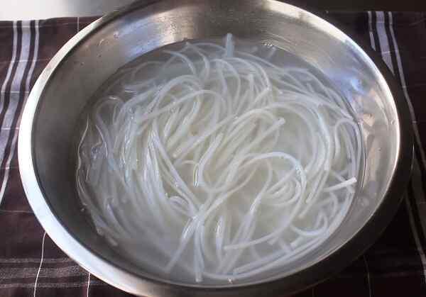 Рисовая лапша с овощами рецепт с фото