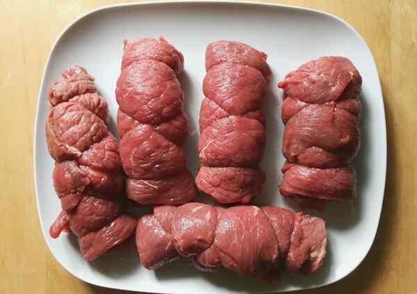 Рулетики из говядины рецепт