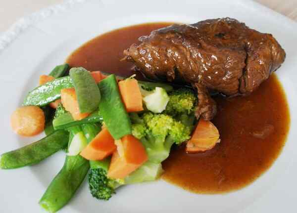 Рецепт рулетики из говядины в духовке