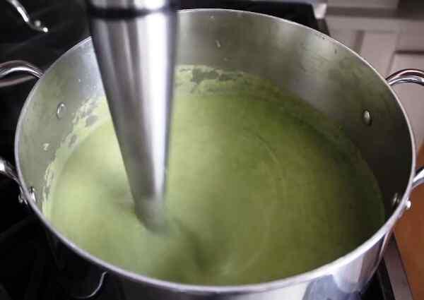Суп пюре из брокколи диетический рецепт