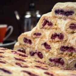 Рецепт торта монастырская изба с вишней