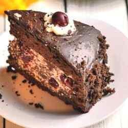Торт пьяная вишня рецепт с пошаговым фото