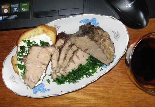 Вымя говяжье рецепты с фото