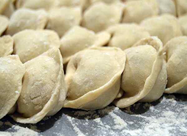 Как сделать заварное тесто на пельмени