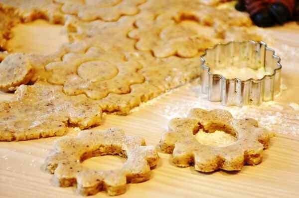 Новогоднее имбирное печенье рецепт с фото пошагово