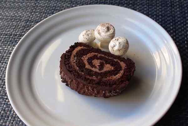 Торт рождественское полено рецепт с фото