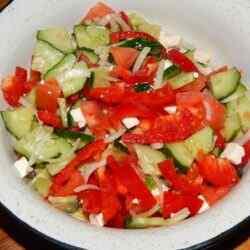 Салаты из свежих овощей рецепты