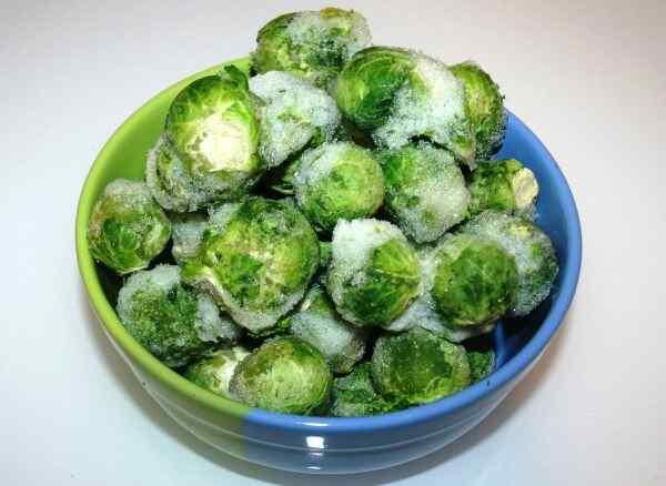 Рецепты из замороженной брюссельской капусты