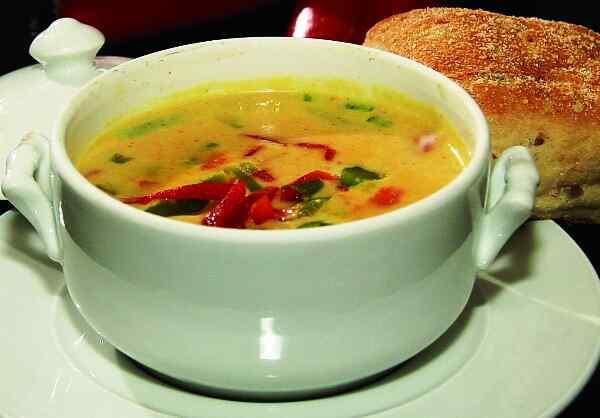 Крем суп из брокколи со сливками рецепт