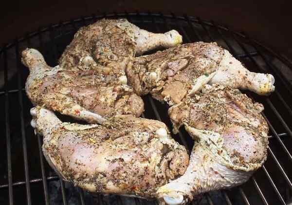Курица гриль в духовке на решетке рецепт