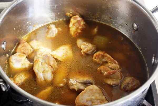 Курица в соусе карри рецепт