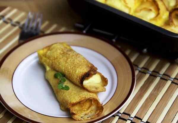 Подаем блюдо со сметаной