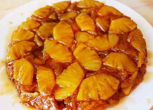 Рецепт пирога с ананасами в духовке