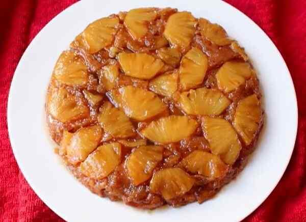 Пирог с ананасами консервированными рецепт