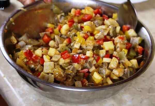 Салат из сельди рецепт