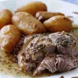 Тушеная картошка с мясом в мультиварке пошаговый рецепт